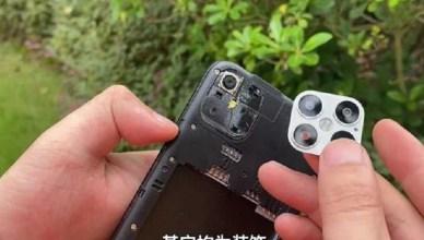 山寨iPhone 12曝光 有3.5mm耳機、可換電池、鏡頭竟是黏的