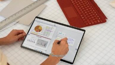 微軟升級Surface Pro X 新增SQ2處理器、白金色款式