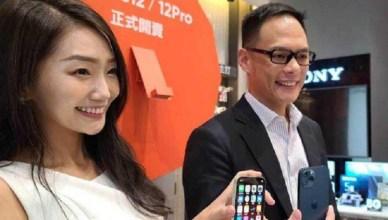 搭5G熱潮換一波!iPhone 12開賣 購機人氣爆棚