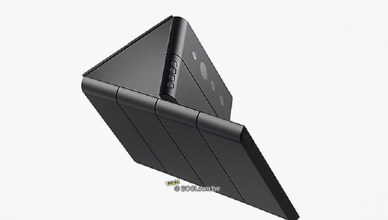 折疊螢幕手機有3段滑動 OPPO發表多變化藍牙耳機等概念產品