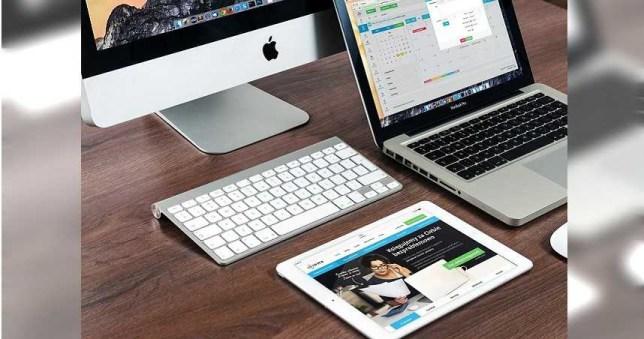 2020蘋果在電腦方面的銷售成長率驚人。(示意圖/pixabay)