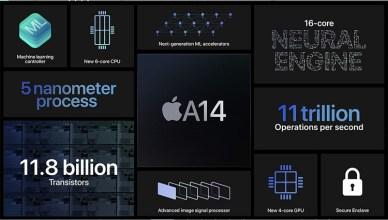 蘋果 iPhone 12系列搭載的5奈米 A14晶片強大嗎?用A13晶片一起比較