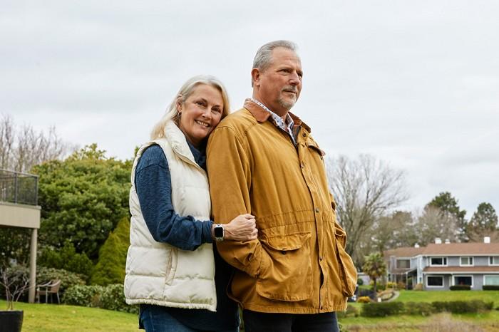 Bob March 和妻子 Lori 認為他們能注意到 Bob 的心臟症狀,要歸功於他的 Apple Watch
