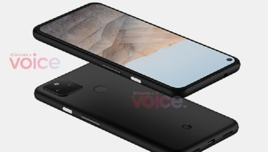 Google Pixel 5a模擬圖曝光!外型與4a 5G幾乎沒差異