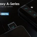 帶有旋轉相機鏡頭的三星Galaxy A系列智慧型手機