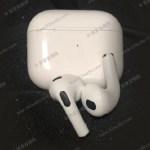Apple 最新 AirPods 第三代外觀及充電盒提前曝光