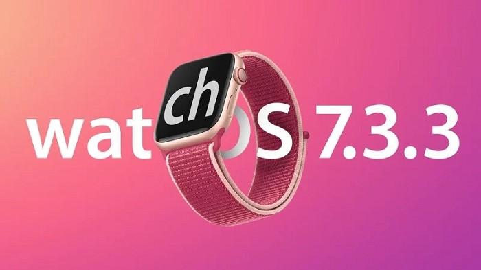 蘋果發布watchOS 7.3.3更新以修復系統漏洞