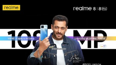 realme 8系列3/24印度發表 Pro版有1億畫素鏡頭