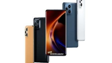 OPPO Find X3中國發表 X3 Neo與X3 Lite英國官網亮相