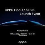OPPO Find X3 Pro主相機將有獨特曲線造型設計 3/11線上發表