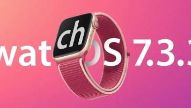 watch OS 7.3.3