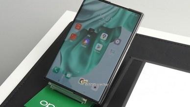 螢幕伸縮自如!OPPO卷軸螢幕概念機登台亮相