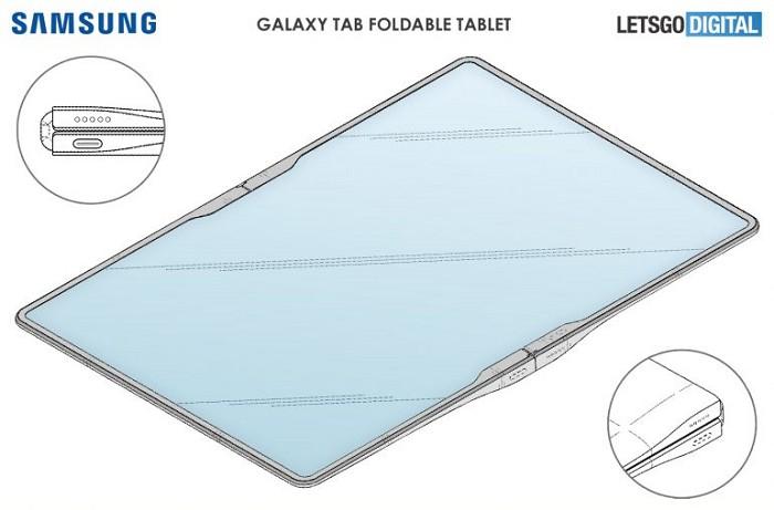 三星Galaxy平板電腦具有柔性螢幕