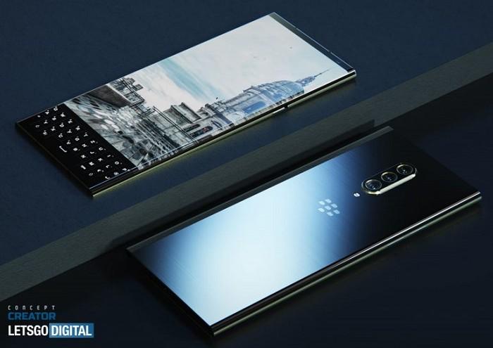 帶有三鏡頭的BlackBerry Key 3