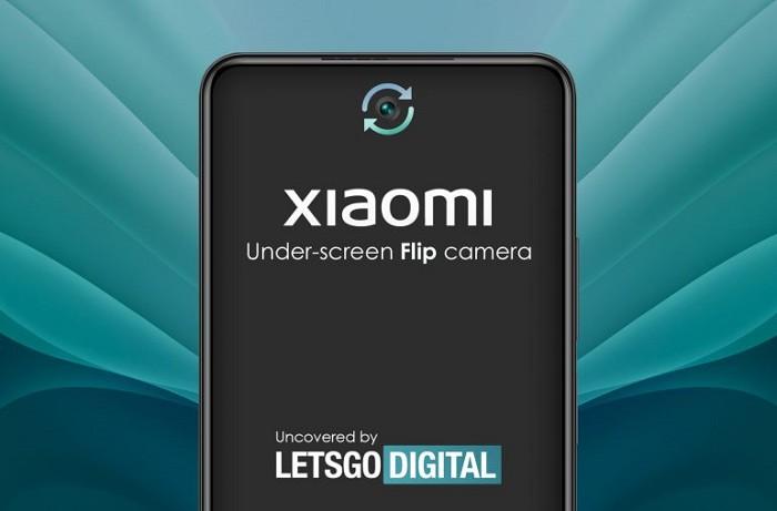 小米智慧型手機帶有旋轉式螢幕下鏡頭