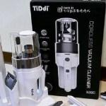 無線吸塵器開箱 TiDdi S290輕量化無線氣旋式除螨吸塵器,讓你吸塵拖地一次搞定