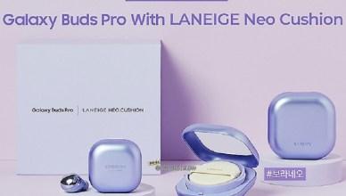 鎖定美妝市場!三星與蘭芝推出Galaxy Buds Pro限量版耳機