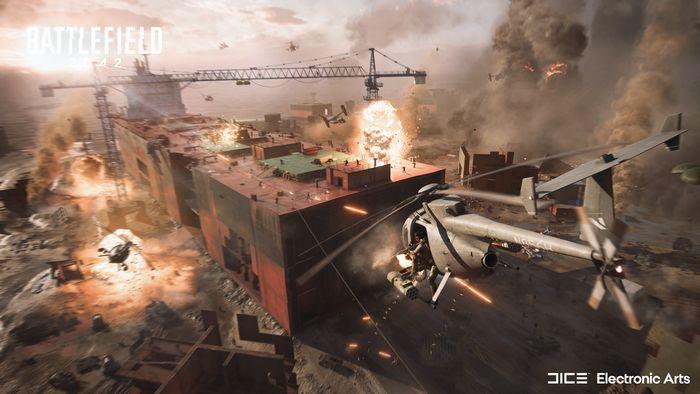 《戰地風雲2042》於10月22日登陸PS4和PS5