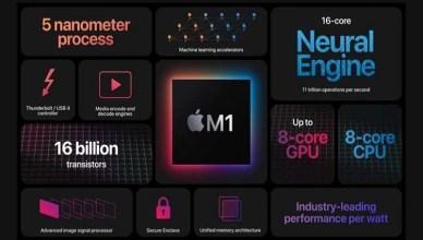 下一代M1晶片顯示效能將大躍進 顯示核心4倍增長