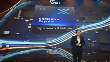 AMD宣布RDNA 2圖像架構將導入三星Exynos新旗艦處理器
