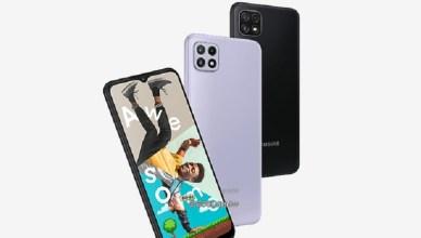 五千大電量手機 SAMSUNG A22 5G與4G雙版本發表