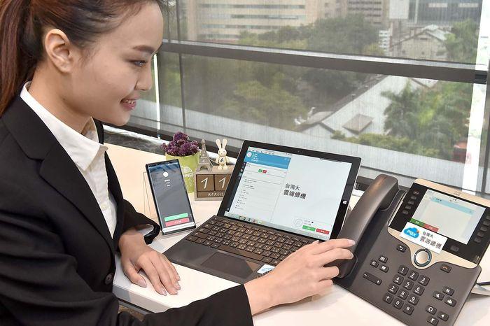客戶來電三機同響、商機不漏接的「台灣大雲端總機」Cloud PBX出現突破性成長