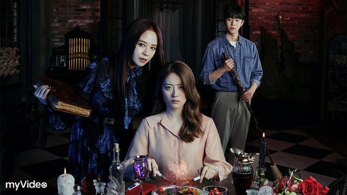 改編自同名奇幻小說的韓劇《來魔女食堂吧》,還未開播就讓劇迷為之瘋狂,將於7月16日起在myVideo跟播。