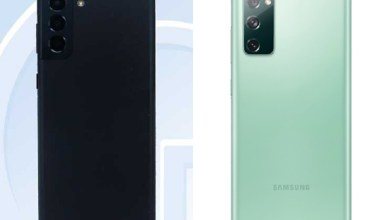三星S21 FE外型與規格亮相 Z Fold3傳擁有螢幕下鏡頭