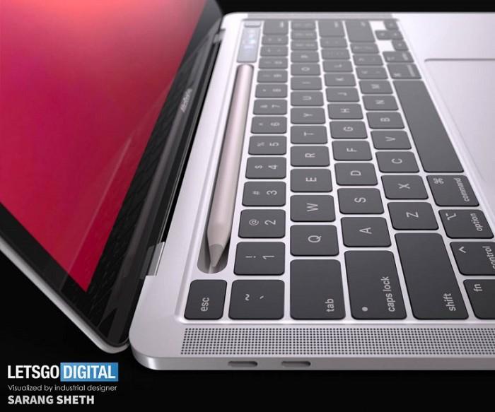MacBook Pro 支援 Apple Pencil