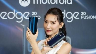 1億高畫素5G手機 Motorola edge 20 pro與20 fusion登台