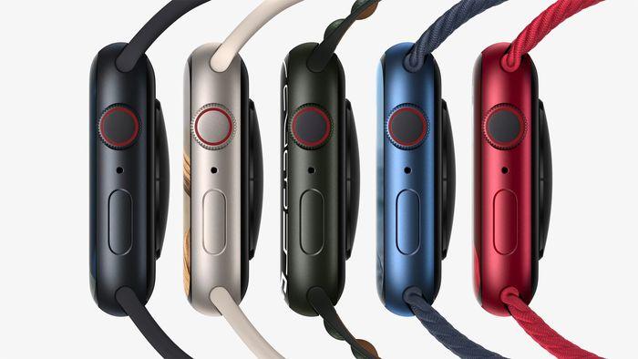 Apple Watch Series 7螢幕變大20% 充電速度提升33%