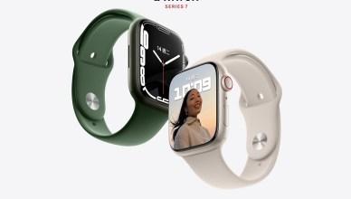 蘋果智慧手錶Apple Watch Series 7將採用更小的雙面S7晶片以提升續航力,與S6比較
