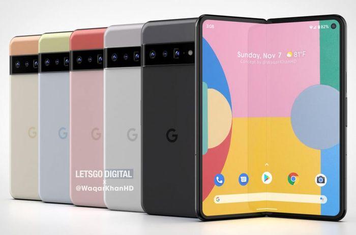 Google可折疊智慧型手機
