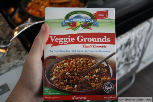 vegan meat crumble