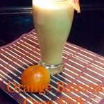 Orange Banana Coco Milk Drink