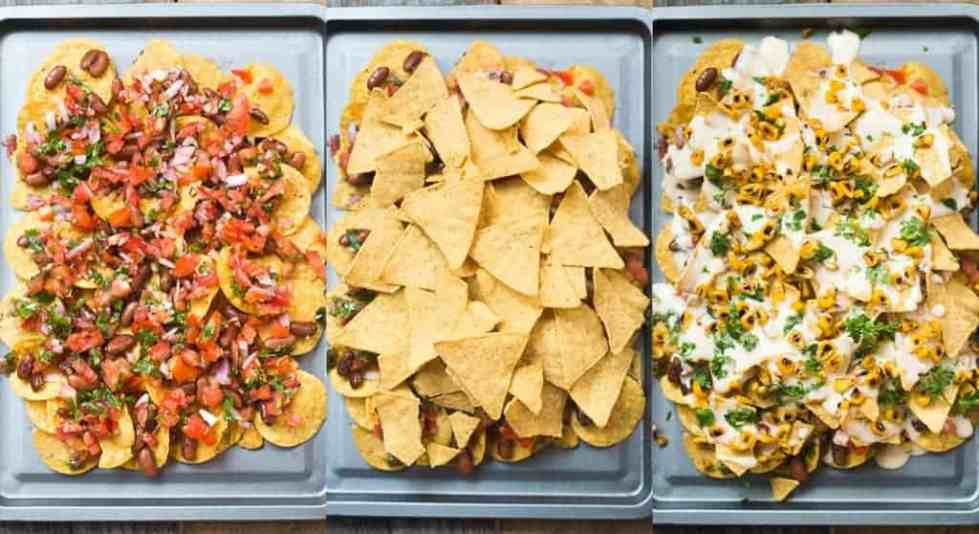 No Brainer Loaded Nachos Platter - My Food Story