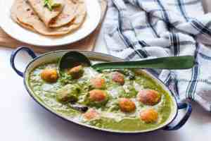 Healthy Palak Paneer Kofta Curry