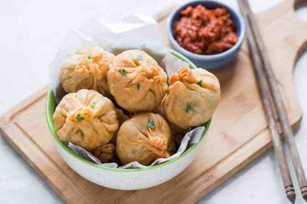 Love samosas? These indian chinese vegetarian chinese potli samosa wontons are going to blow you over! Also includes recipe for homemade samosa wrappers!
