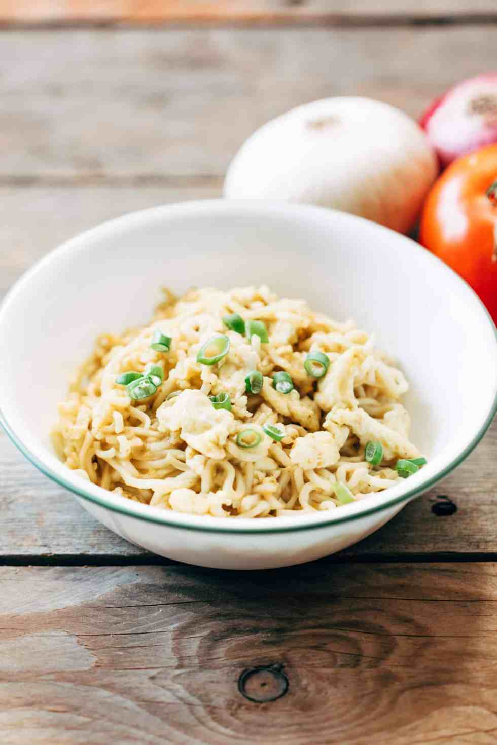 With just four ingredients this Cheese and Egg Maggi is really simple to make. And a huge favourite because its super cheesy and has bits of scrambled eggs in every bite!
