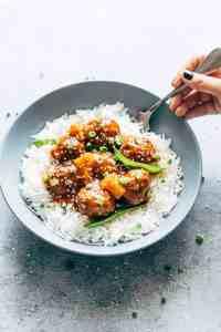 Slow Cooker Teriyaki Meatballs with Pineapple