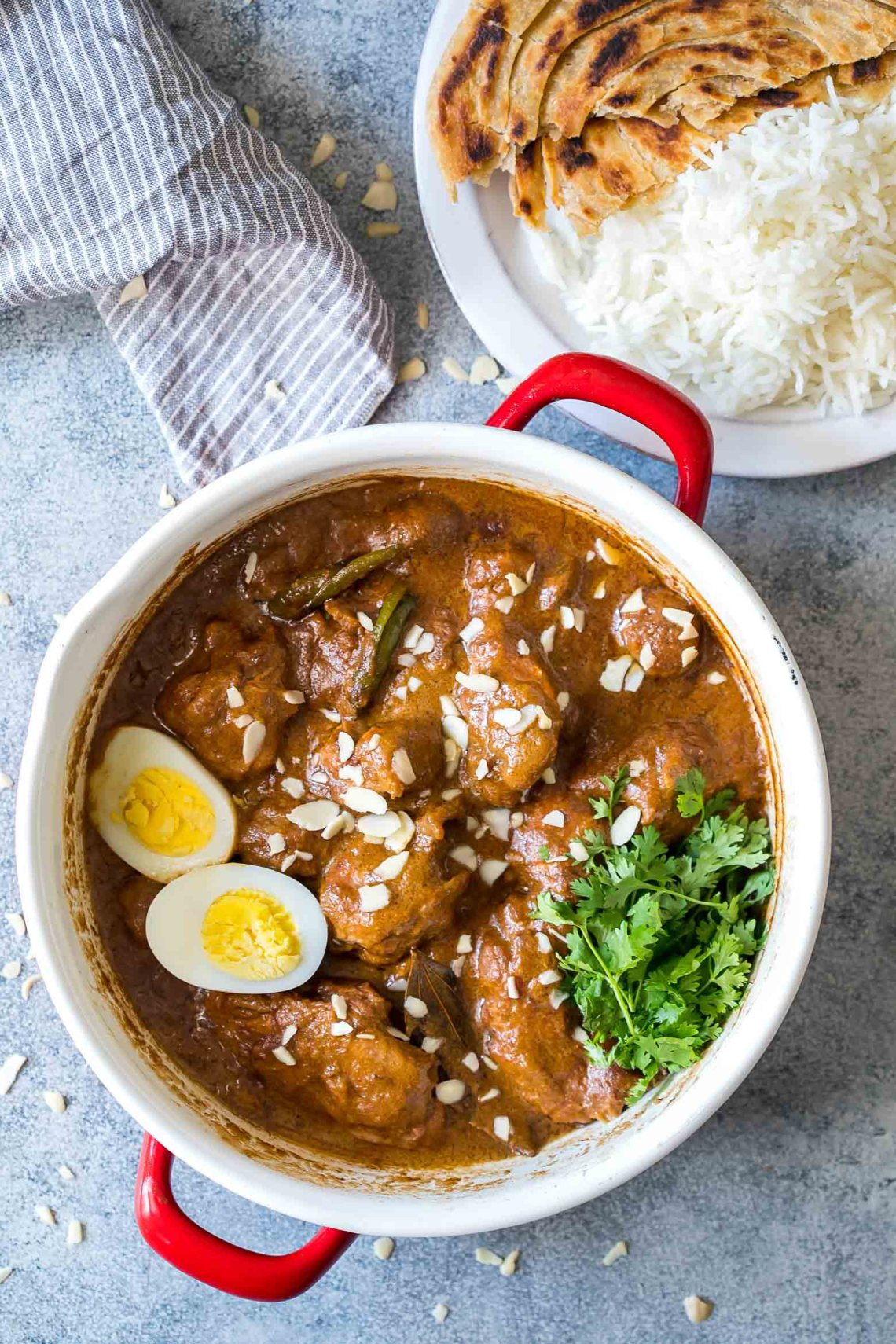 Mughlai Chicken - Easy, Restaurant Style, North Indian Recipe
