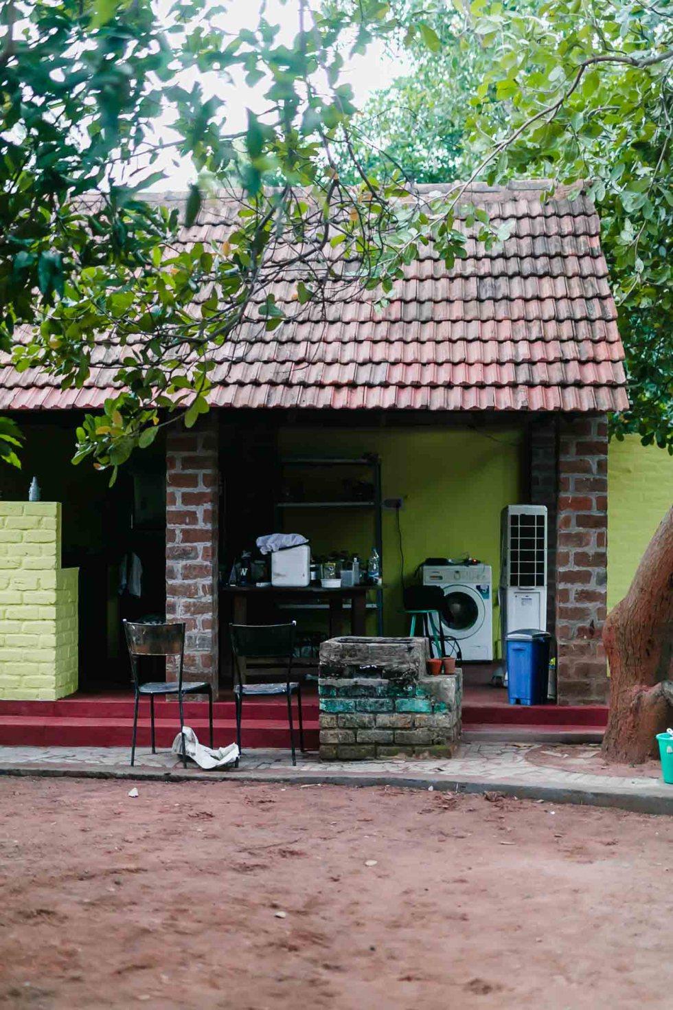 Our kitchen in Pondicherry