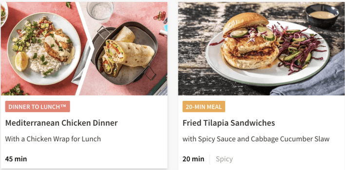 hellofresh classic plan options