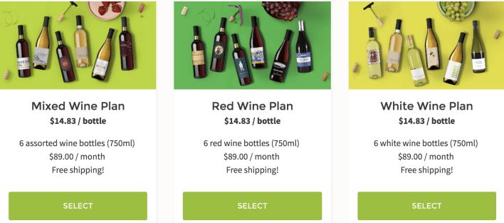hellofresh wine selection