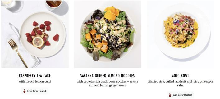 Sakara daily meal plan