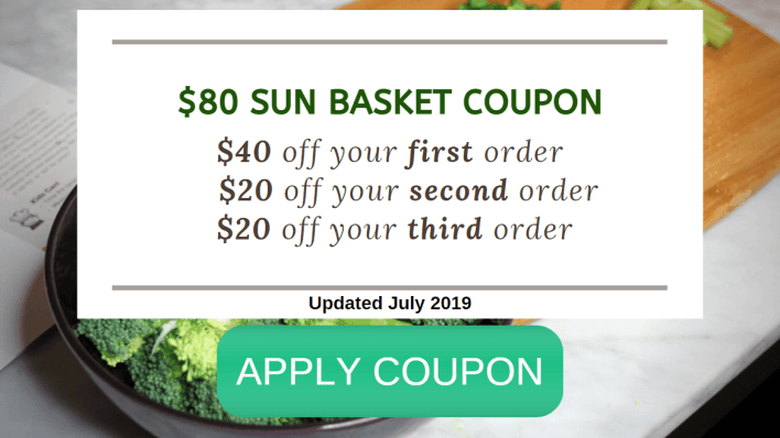 Coupon Code for Sun Basket