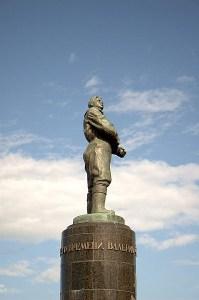 Памятник Василию Чкалову