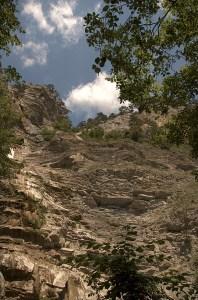 Водопад Учан-Су летом