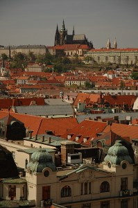 Вид на Старый город с ратуши