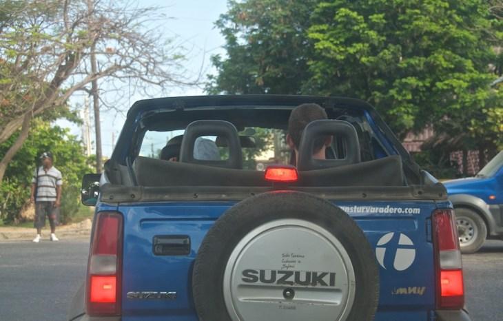 Джип сафари на Кубе